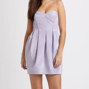 Shoshanna lavender Jane cocktail dress